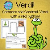 Verdi  Book Companion (Paired Text) ESL Activities