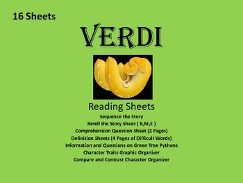 Verdi Picture Book Reading Packet.