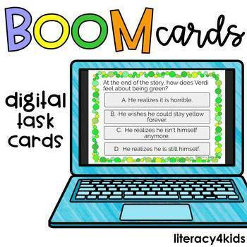 Verdi by Janell Cannon Boom Cards (digital task cards)