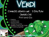 Novel Study: Verdi by Janelle Cannon