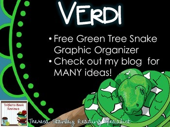 Verdi by Janelle Cannon ~ Free Green Tree Snake Organizer