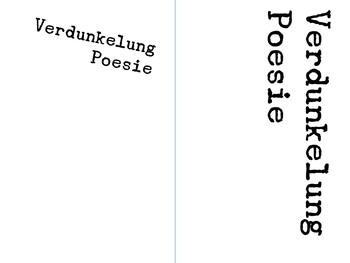 Verdunkelung Poesie