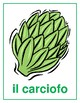 Verdura (Vegetables in Italian) Posters