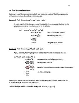 Verifying Identities (B-7)