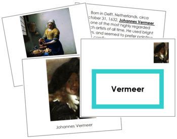Vermeer (Johannes) Art Book - Color Border