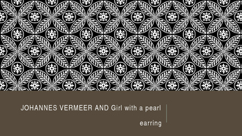 Vermeer and Girl With a Pearl Earring Slideshow