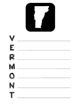 Vermont state acrostic poem template project activity worksheet pronofoot35fo Choice Image