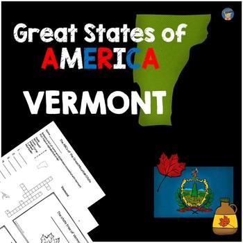 Vermont Activity Packet