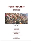 Vermont Cities by Population