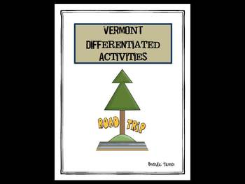 Vermont Differentiated State Activities