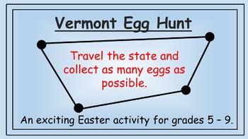Vermont Easter Math Activity