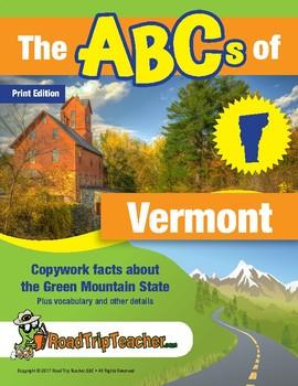 Vermont Handwriting Printables - Print Edition