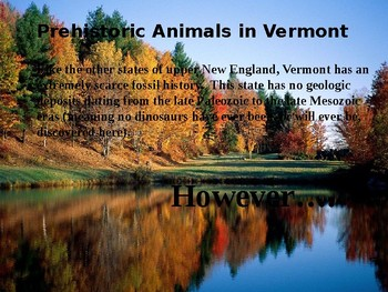 Vermont History PowerPoint - Part II
