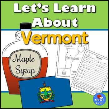 Vermont History and Symbols Unit Study