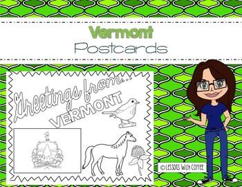 Vermont Postcard - Classroom Postcard Exchange
