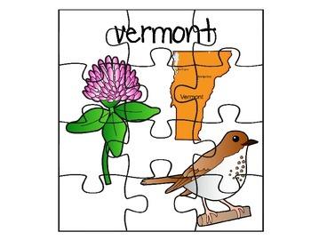 Vermont Puzzle Set
