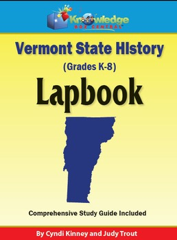 Vermont State History Lapbook