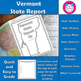 Vermont State Report
