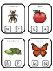 Vermont State Symbols themed Beginning Sounds Clip It Preschool Card Game.