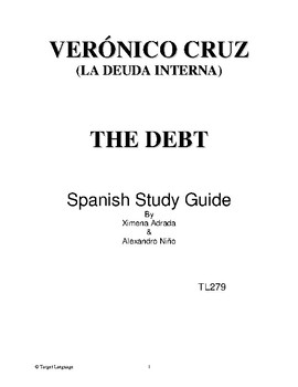 Veronico Cruz-Spanish Study Guide
