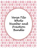 Versa Tile Whole Number/Fraction Bundle