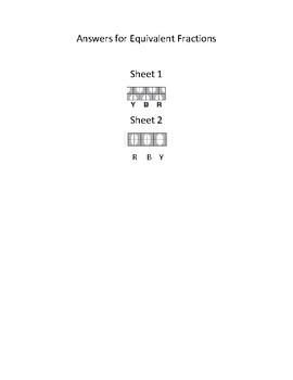 Versa Tiles Finding Equivalent Fractions