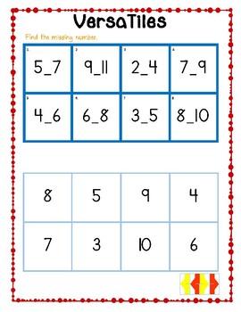 VersaTiles: Missing Numbers