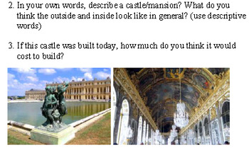 Versailles Bell Work