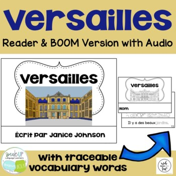 Versailles, France Reader & Vocab work ~ Simplified for Language Learners