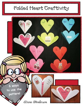 Versatile Folded Heart Craft