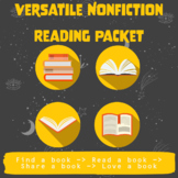 Versatile Nonfiction Independent Reading. Logs, Graphic Or