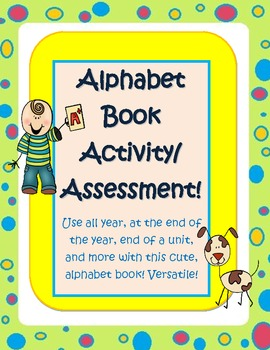Versatile Student Alphabet / vocabulary Book for any topic! All year,any grade!