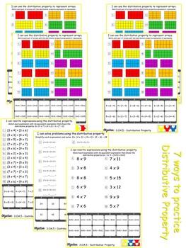 Versatiles Worksheets - Properties of Multiplication by ...