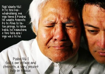 Verses from the Bible in te reo Māori and English Poster Book