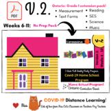 Version 2: Ontario  Week 6-11  FULL Covid-19 - Grade One -