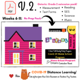 Version 2: Ontario  Week 6-11  FULL Covid-19 - Grade Two -
