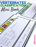 Vertebrate Animal Classification Mini-Book (In Spanish, too!)