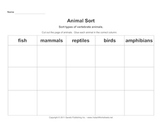 Vertebrate Animal Classification