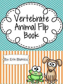 Vertebrate Animal Flip Book