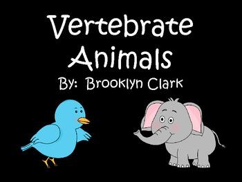 Vertebrate Animals Power Point