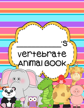 Vertebrate Animals Student Book - Simple, Ready to Use