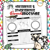 Vertebrate & Invertebrate Research Brochure