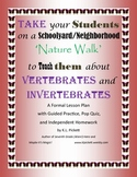 Vertebrate/Invertebrate Lesson Plan