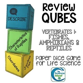 Vertebrates 1: Fishes, Amphibians & Reptiles Review Qubes