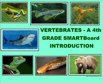 Vertebrates - A Fourth Grade SMARTBoard Introduction
