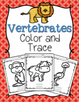 Vertebrates Color and Trace