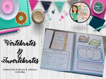 Vertebrates & Invertebrates Science and Literacy Activities