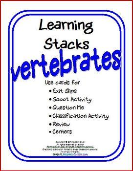 Vertebrates Learning Stacks