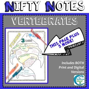 Vertebrates Nifty Notes
