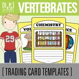 Vertebrates Science Trading Cards